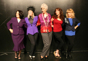 Tery Veras (Mickey), Nancy Pranckus (Pauline), Wendy Parman (Ethel), Mary Gault (Clarice) and Carol Melnick (Ann)