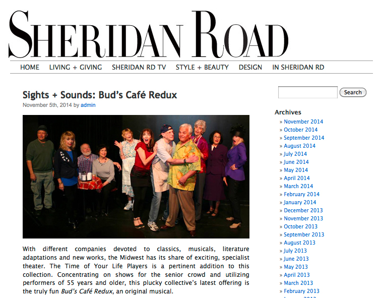 Sheridan Road Magazine Review