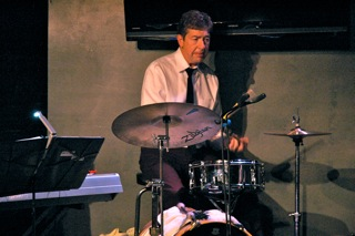 Ken Stefancich, Drummer. Ken keeps the beat.
